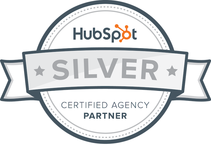 Hubspot Silver Certified Agency badge