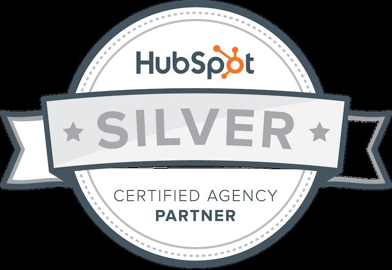 Hubspot Silver Certified Agency badge