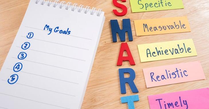 Como crear objetivos SMART