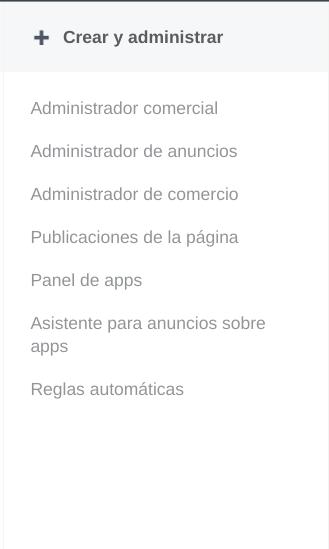 administración de usuarios en facebook business manager