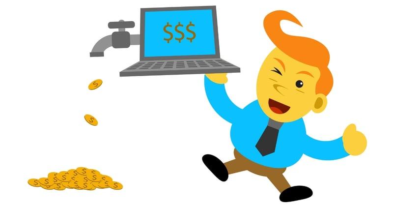 Monetiza el blog y gana dinero