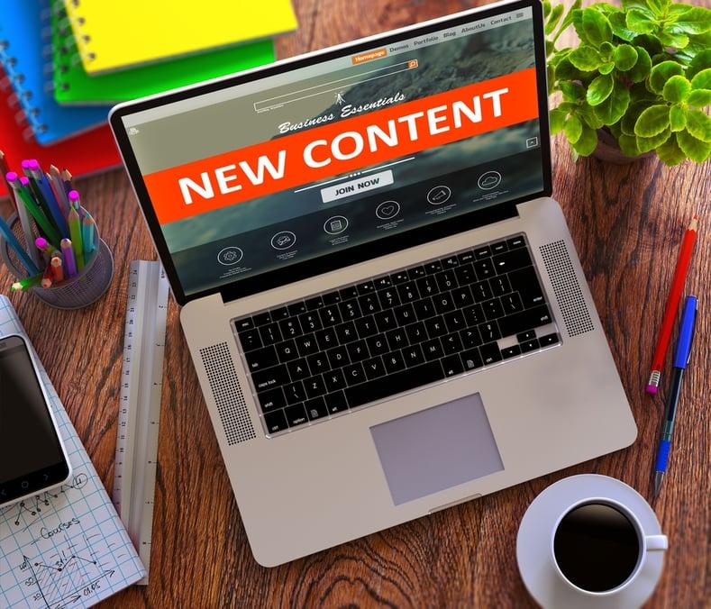 Agrega contenido regularmente