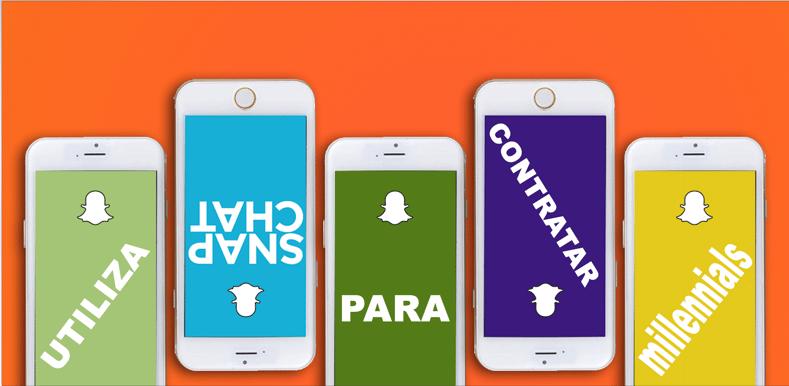 Utiliza Snapcha para Contrar Millennials
