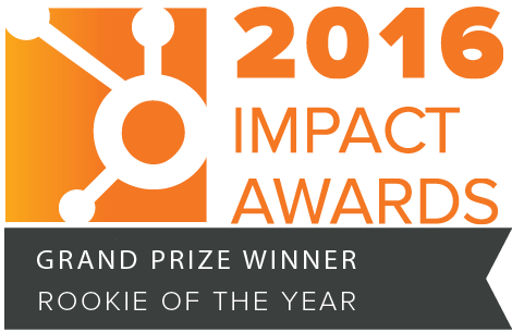 2016 Impact Awards Rookie of the Year Winner badge