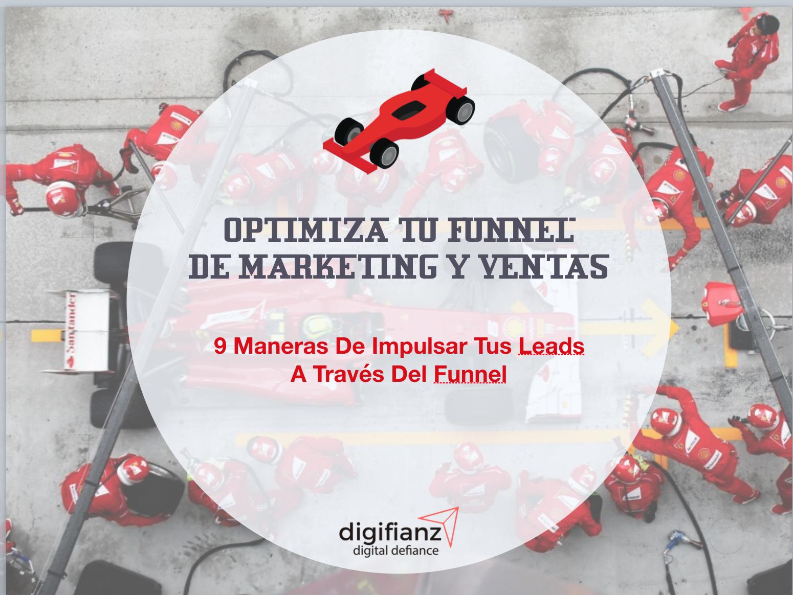 Optimiza tu funnel de marketing y ventas