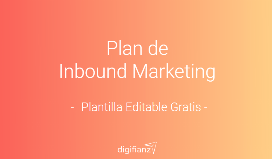 Plan de Inbound Marketing Planilla Editable